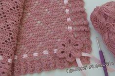 Love Crochet, Crochet Yarn, Crochet Flowers, Crochet Projects, Sewing Projects, Crochet Heart Blanket, Pinterest Crochet, Handmade Baby Blankets, Baby Quilts