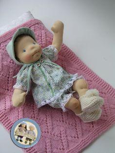 Kelly - waldorf inspired baby doll by Lalinda.pl
