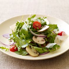 basic arugala salad that complements pizza, pasta, seafood, meats ...