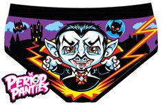 Try to avoid Cunt Dracula. He may be cute– with his mischievous mustache and red fingernails– but trust me on this one: He's out for blood.  Panties are 95% cotton and 5% elastane. Made in China.  Sizing chart: http://harebrained.tumblr.com/image/91457054104  All sizes will be restocked in ...