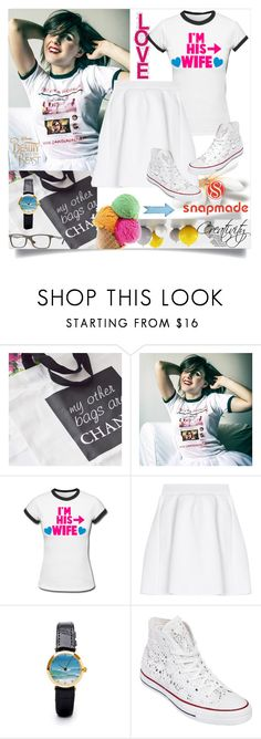"""Snapmade 2/2"" by creativity30 ❤ liked on Polyvore featuring Laredo, malo, Converse and Ray-Ban"