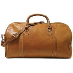 Parma Leather Duffel