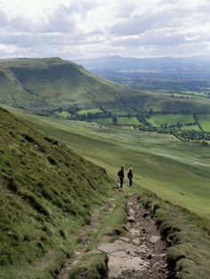 The Brecon Beacons, Wales, UK. Had a very memorable school field trip here when I was in the sixth form!