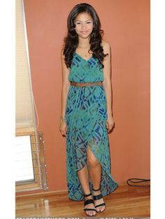 Disney Channel Star Zendaya shows us how to keep her Dianne Maxi Dress casual for daytime activities!    http://www.gypsy05.com/shop/c_7_Women-Maxi-Dresses.aspx