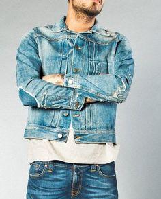 Obliging Vintage Xl??? Durable Modeling ? Carhartt Denim Jean Jacket Blanket Lined Blue — Size? See Pix