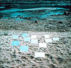 Robert Smithson, Sixth Mirror Displacement, 1969