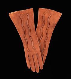 Gloves, Alexandrine, 1930's.