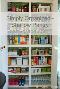 Carry Grace: Simply Organized - The Pantry