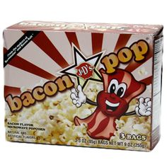 Bacon Popcorn | Stupid.com