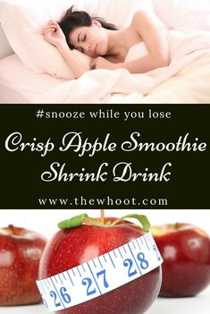 This lose weight sleep drink was on Dr Oz and it really works. Lose 2 pounds overnight and sleep yourself slim. Get the recipe now! Weight Loss Detox, Weight Loss Drinks, Weight Loss Smoothies, Lose Weight, Apple Smoothie Recipes, Apple Smoothies, Vitamix Recipes, Paleo Recipes, Raspberry Smoothie