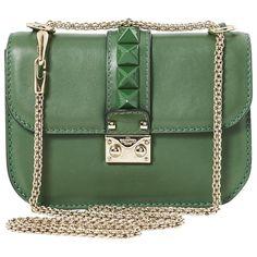 5667d44a5 Glam Lock Handbag, Valentino   Vestiaire Collective Luxury Consignment,  Leather Handbags, Stitch Fix