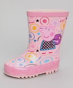 Pink Peppa Pig Wellies - Infant, Toddler & Girls by Bonfire Night Boutique on #zulilyUK today!