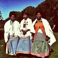 The #xhosa women of the Mqathane family | today's #wedding (Taken with Instagram)