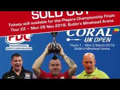 Betting Odds for the 2018 Coral UK Open! Darts Wagering Anyone? - YouTube