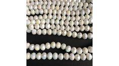 Fánk alakú üveg gyöngy- Navajo Fehér rendelés