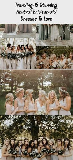 neutral champagne bridesmaid dresses #obde #weddingideas2019 #PeachBridesmaidDresses #BridesmaidDresses2018 #SilverBridesmaidDresses #BridesmaidDressesMuslim #CasualBridesmaidDresses