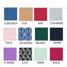Free Fashion Flat Templates + Trim Pack – Courses & Free Tutorials on Adobe Illustrator, Tech Packs & Freelancing for Fashion Designers – The Best Ideas Fabric Textures, Fabric Patterns, Sewing Patterns, Fashion Design Jobs, Fashion Designers, Fashion Terms, Fashion Terminology, Fashion Guide, Fashion Ideas