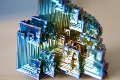 sixpenceee: Bismuth Crystals are beautiful. They have an interesting geometric form and are rainbow-colored from the oxide layer that quickly forms on them. Here's a website that has instructions on how to make them. (Source: sixpenceee, via accio-peace) Pastel Colors, Rainbow Colors, Green Colors, Diy Crystals, Crystals Minerals, Quartz Crystal, Crystal Healing, Animal Sewing Patterns, Geometric Form