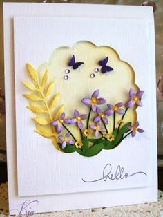 Hello by kiagc - Cards and Paper Crafts at Splitcoaststampers