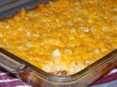 I dont know if this is Cracker Barrels actual hash browns casserole recipe, but it is close. This recipe can feed a large crowd and is good for a brunch.