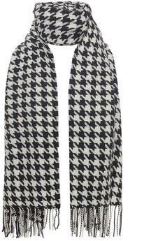 Barbour Houndstooth Stole