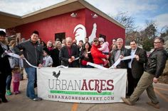 Deadline fever kept us from attending the grand ribbon-cutting yesterday at Urban Acres new Farmstead digs in North Oak Cliff. Conveniently located at 1605 N. Beckley near Methodist Hospital to… Green News, Can You Help, Cliff, Conservation, Acre, Sustainability, Environment, Bring It On, Sustainable Food