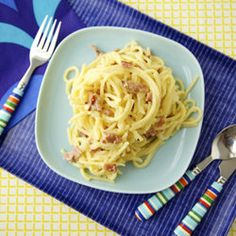 Lightened Up Spaghetti Carbonara — Punchfork