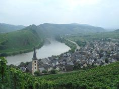 Mosel River (wine country) Germany