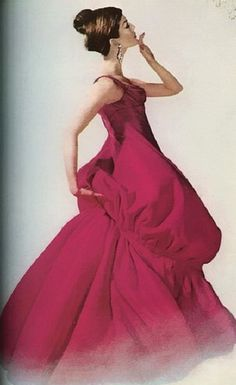 1956 Charles James 'Balloon' Gown. #CharlesJames