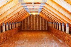 Attic Storage Ideas - Wall Shelving | DoItYourself.com