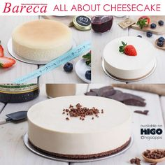 It's all about cheesecake; discover the history and types of #cheesecake @BarecaMagazine