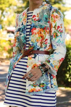 atlantic pacific mixes florals and stripes