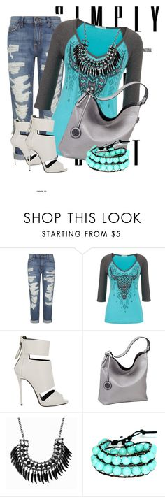 Untitled #1095 by bianca-2904 on Polyvore featuring beleza, Chan Luu, Sydney Love, maurices, Current/Elliott and Giuseppe Zanotti