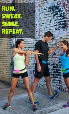 Run. Sweat. Smile. Repeat.