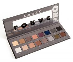 Sneak a peek into LORAC's #PROPalette2 and swatch with @temptalia!