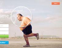 Fitnass Landing Page Landing Page Inspiration, Landing Page Design