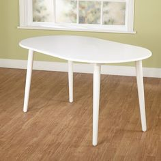 Create a beautiful interior dining space with the stylish and contemporary Naples Oval Dining Table. The subtle coloration ensures that this lovely table will blend with nearly any style of decor that your home might already have. White Dining Room Table, Dining Table Price, Dining Room Sets, Dining Table In Kitchen, Dining Tables, Oval Table, Kitchen Redo, Kitchen Ideas, Contemporary Dining Table