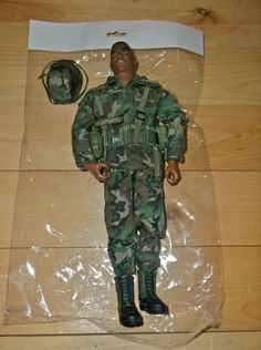 21st Century Toys The Ultimate Soldier (U.S. Army) African American (1999)