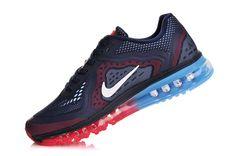 Dame Nike Air Max 2014 Sort Sølv [WW316] : Nike Air Max 2014, Air ...