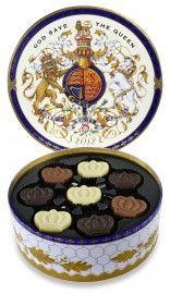 Jubilee - Crown chocolates in a beautiful commemorative tin