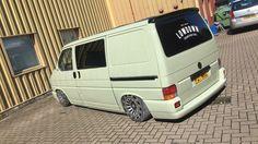 Volkswagen Transporter T4, Grey Vans, Vw Vans, New Bus, Busse, Van Life, Campers, Wheels, Model