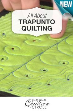 Fake Trapunto Quilting with Wool and Cotton Batting Quilting Tools, Longarm Quilting, Free Motion Quilting, Quilting Tutorials, Hand Quilting, Machine Quilting, Quilting Designs, Wool Quilts, Cotton Quilts