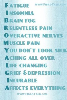 """Fibromyalgia makes you feel tired and causes muscle pain and """"tender points."""" Tender points are places on the neck, shoulders, back, hips, arms or legs that hurt when touched. People with fibromyalgia may have other symptoms, such as trouble sleeping, morning stiffness, headaches, and problems with thinking and memory, sometimes called """"fibro fog."""""""
