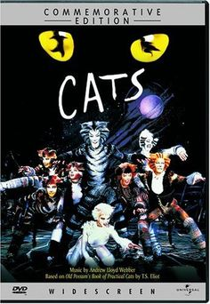 """""""Cats"""" opened at The Winter Garden on October 7, 1982, carrying an advance of $6.2 million, the largest in Broadway history. In 1997 it surpassed """"A Chorus Line"""" as the longest running show in Broadway history. On September 10, 2000, after 7,485 shows and a run of nearly 18 years, the show closed - a Broadway record.  For the first time ever, an Andrew Lloyd Webber show has been specially filmed and made available on video. With a star cast including Elaine Paige and Sir ..."""