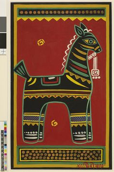 Folk art by Jamini Roy Madhubani Art, Madhubani Painting, Indian Folk Art, Indian Artist, Indian Art Paintings, Abstract Paintings, Oil Paintings, Fabric Painting, Painting Tips
