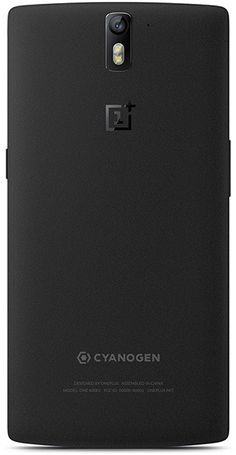 OnePlus One Sandstone Black  - 64 GB Storage 3GB RAM with CM11S ROM - 5.5-inch 1080p Full HD (1920 x 1080 pixels), 401 PPI - Qualcomm Snapdragon 801 processor with 2.5GHz Quad-core CPU - 13 Megapixel - Sony Exmor IMX 214 - 5 Megapixel Front facing - Embedded rechargeable 3100 mAh LiPo battery - Support 4G FDD-LTE network
