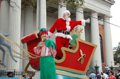 The Mobile Christmas and Holiday Parade is a fun event for the family every year along the downtown parade route.