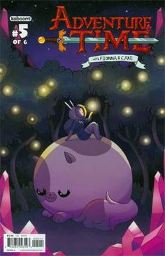 Fionna and Cake are racing against the clock to save the feral flame boy's family... but can they do it in time? Written and drawn by Natasha Allegri, the creator of Fionna and Cake, this series is being called one of the best of 2013!