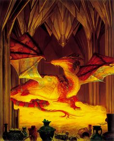 The Great Dragon Smaug - Donato Giancola