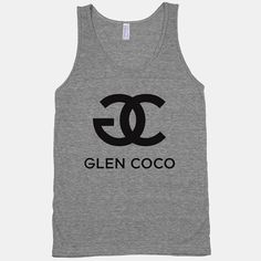"""This top, which explains why Glen Coco got so many candy cane grams: 